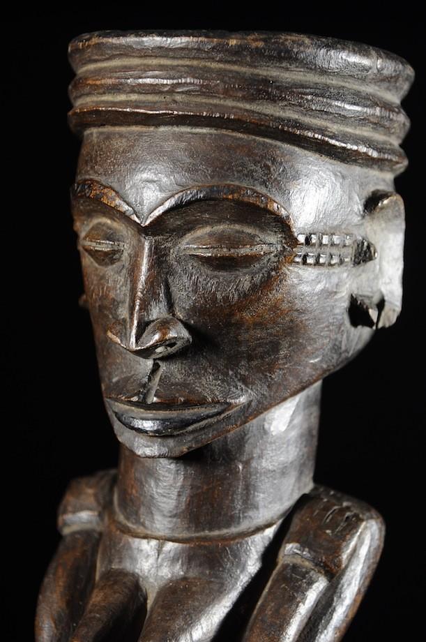 Mortier a Tabac ou Chanvre - Pende - RDC Zaire