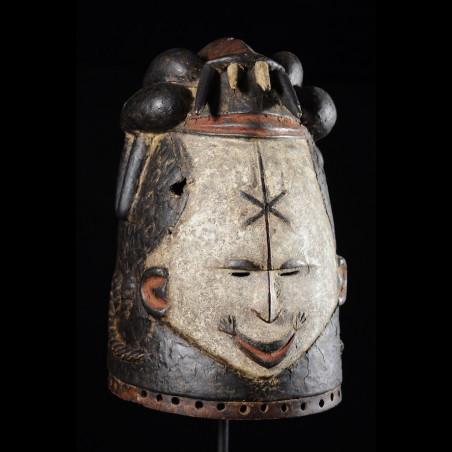 Masque Casque Feminin- Igbo...