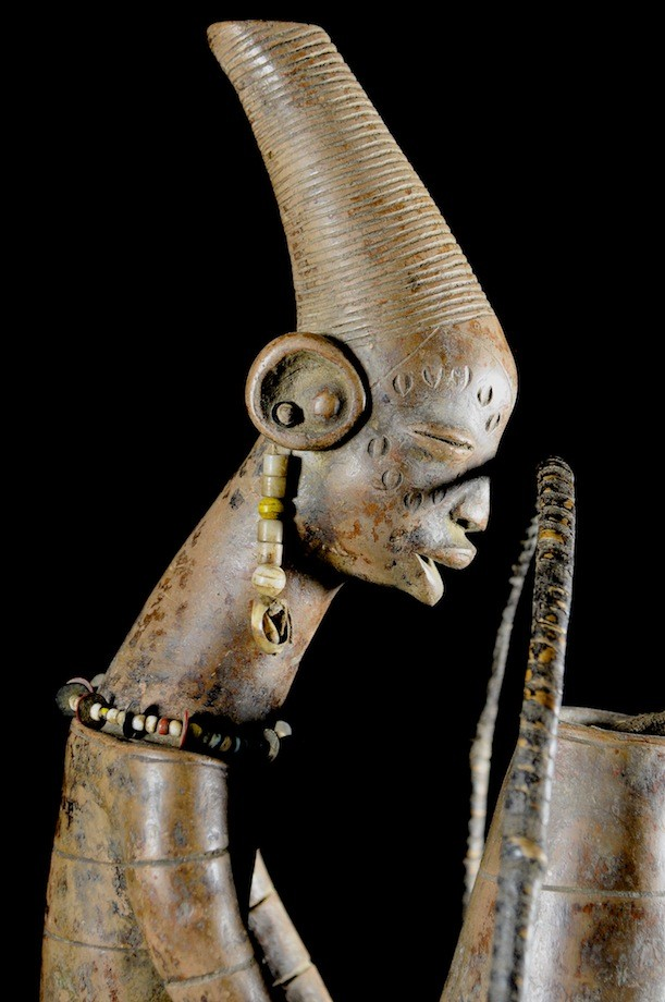 Poterie Anthropomorphe - Mangbetu - Zaire
