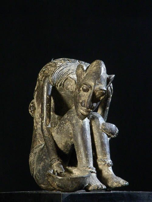 Mendiant - Burkina Faso - Sculptures Bronze comtemporaine