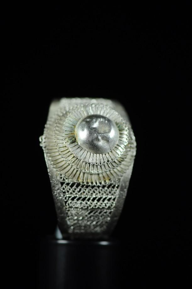 Bracelet en Nickel / Argent - Peul / Fulani - Mali