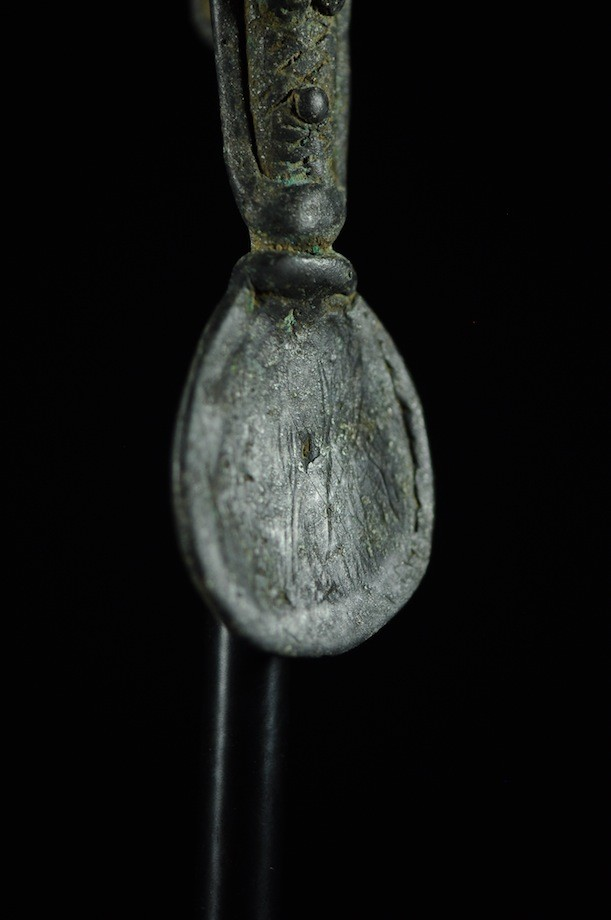 Cuillere en bronze pendentif - Lobi - Burkina Faso