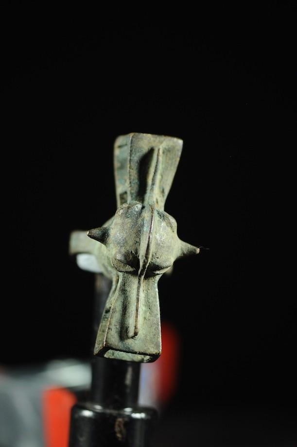 Bague amulette cracheur de feu - Senoufo - Cote Ivoire