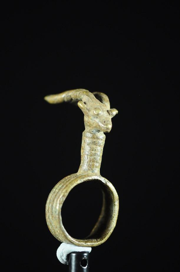 Bague amulette antilope - Lobi - Burkina Faso