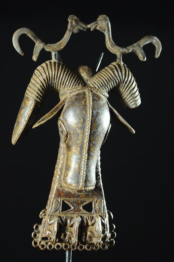 Médaillon Léopard Royal - Bini Edo - Bronzes du Benin