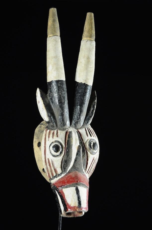 Masque Antilope polychrome - Nuna - Burkina Faso