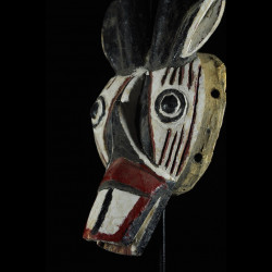 Masque Singe noir - Nuna - Burkina Faso