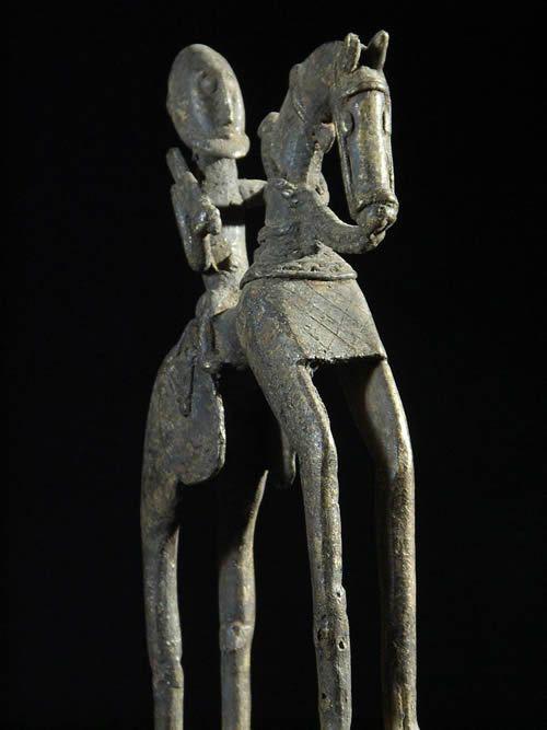 Cavalier et son cheval - Dogon - Mali