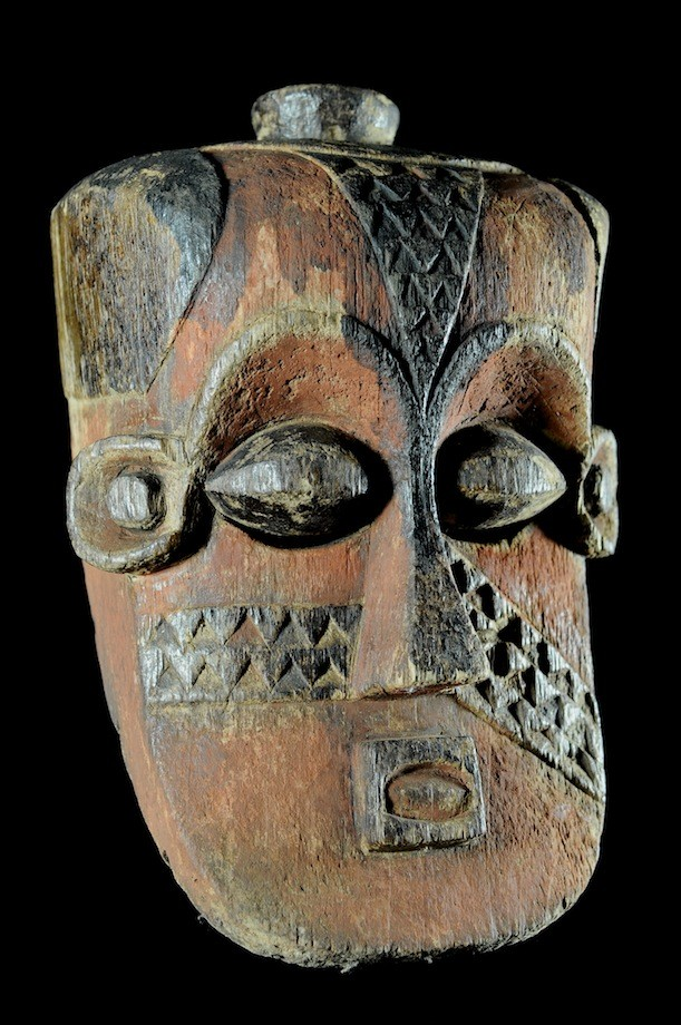 Masque casque Bwoom - Kuba /Bushoong - RDC Zaire
