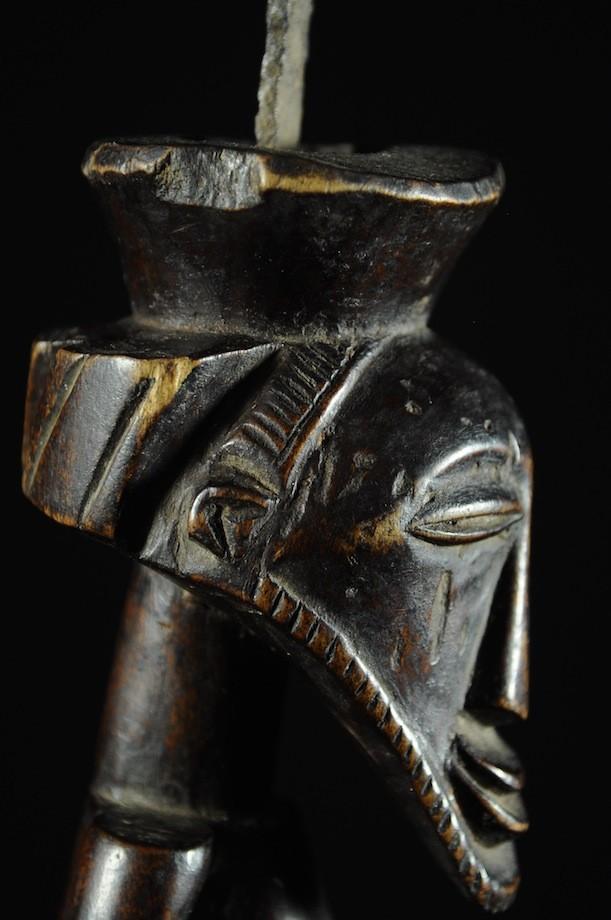 Statue cultuelle masculine - Kusu - RDC Zaire