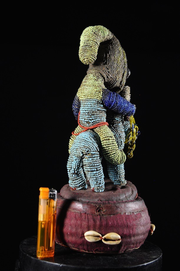 Cavalier et son cheval sur panier - Yoruba - Benin - Region Sokode