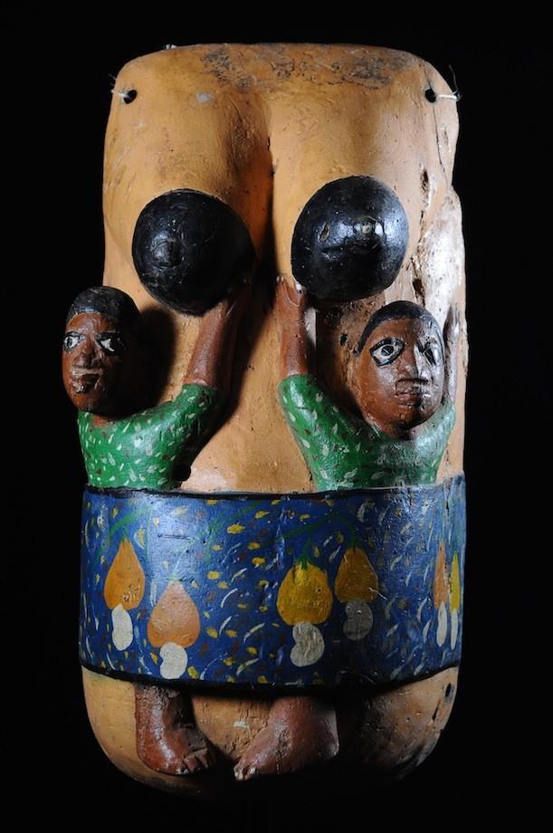 Masque ventre Gelede  - Yoruba - Nigeria / Benin