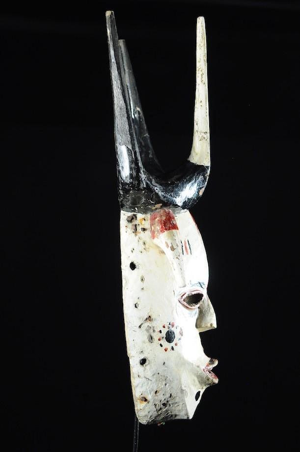 Masque Onyeocha Homme Blanc - Ibo Izzi - Nigeria
