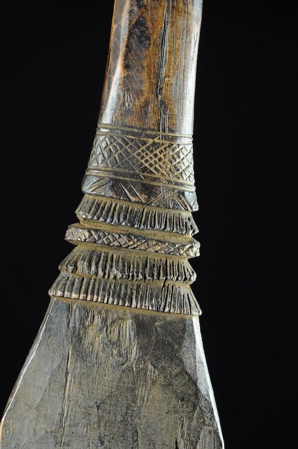 Pelle rituelle de fête Bulu - Dogon - Mali