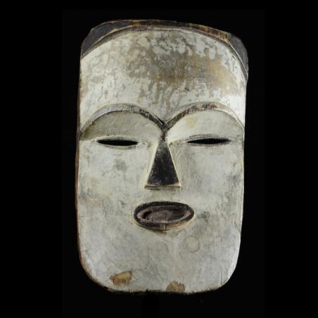 Masque blanc ancien - Tsogho / Vouvi - Gabon