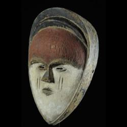 Masque blanc  - Tsogho - Gabon