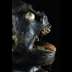 Cimier Tête trophée - Boki / Bokyi - Nigéria / Cameroun
