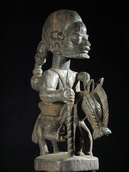Cavalier et son cheval - Yoruba - Benin Nigeria