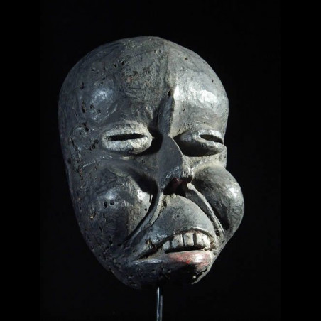 Masque ancien de maladie -...