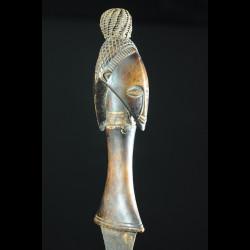 Couteau Glaive et fourreau - Salampasu - Rdc Zaire
