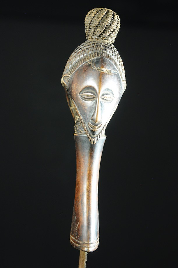 Couteau Glaive et fourreau - Luba - Rdc Zaire