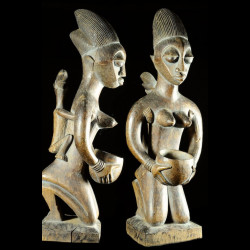 Maternite porteuse de coupe - Agere / Yoruba - Benin - Oracle Fa