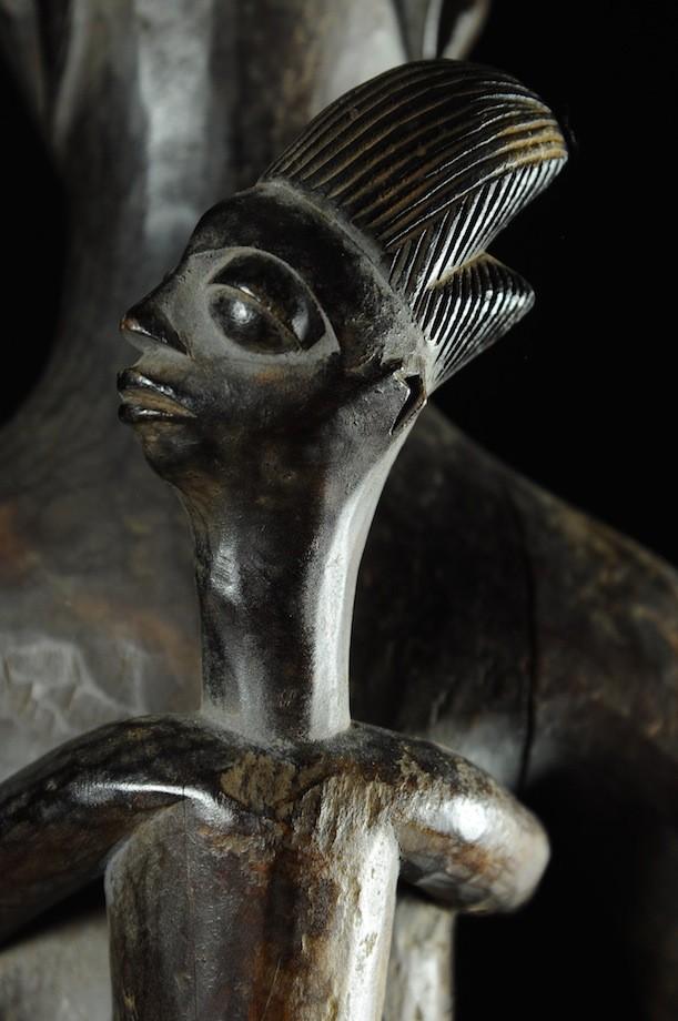 Maternite porteuse de coupe - Agere / Yoruba - Benin - Oracle Fa