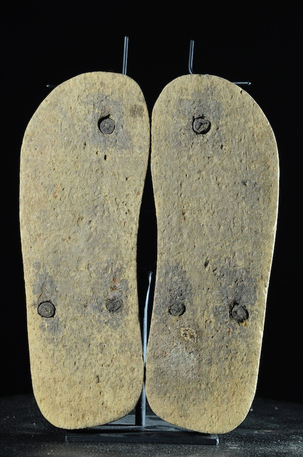 Sandales de notable en bois - Ashanti - Ghana