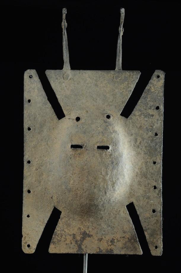 Masque planche Loniaken en fer - Toussian - Burkina Faso