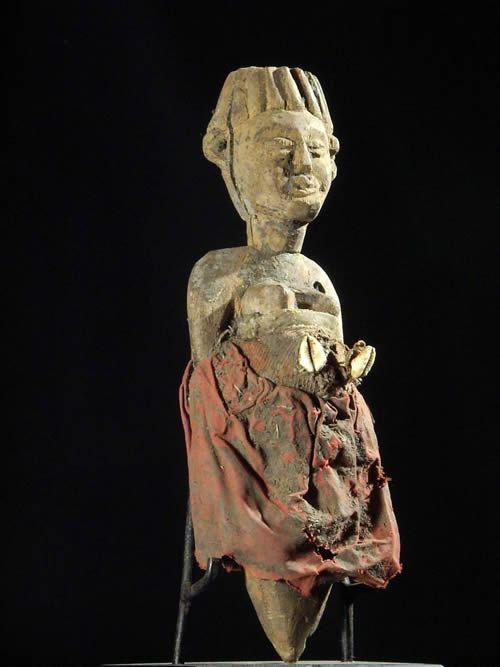 Fetiche femme enceinte - Ethnie Fon - Benin - Vaudou