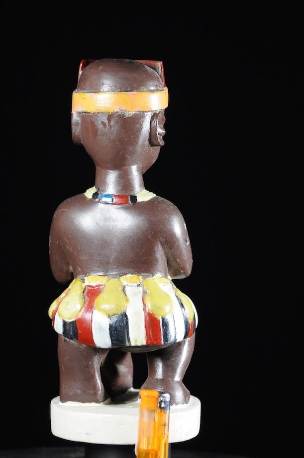 Effigie Lwa Heviosso Vodun polychrome - Togo - Bénin