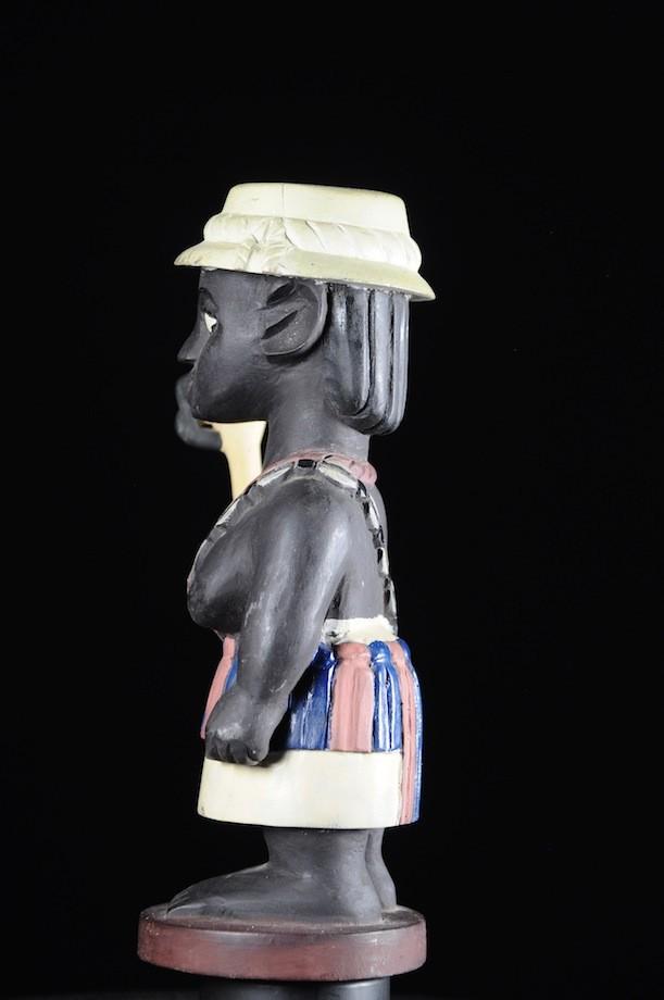Effigie Lwa Chien Vodun polychrome - Togo - Bénin