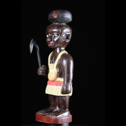 Effigie Lwa Aziza Vodun polychrome - Togo - Bénin
