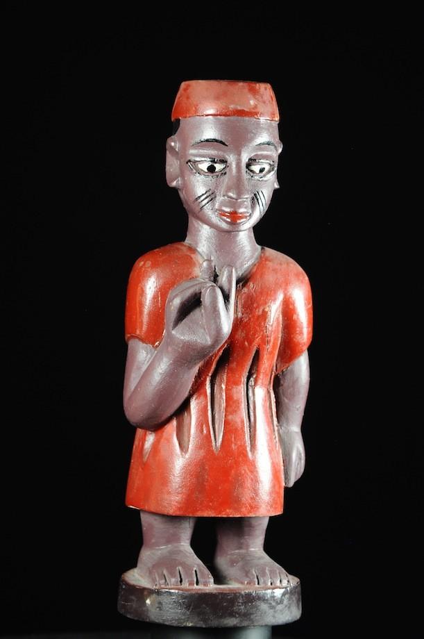 Effigie Lwa Koundé Vodun polychrome - Togo - Bénin