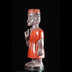 Effigie Lwa Vodun polychrome - Togo - Bénin