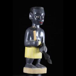 Effigie Lwa Mami Densou Vodun polychrome - Togo - Bénin