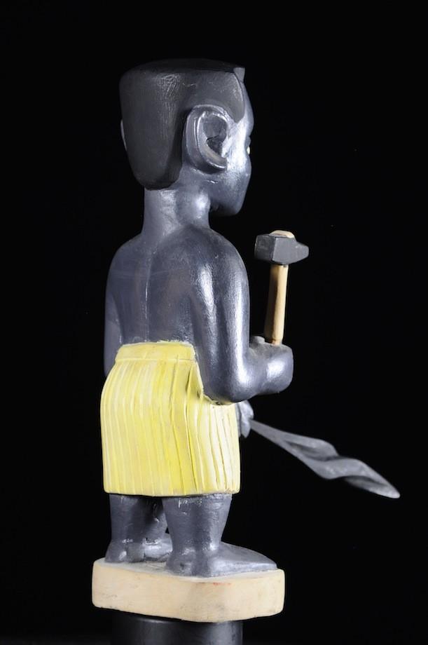 Effigie Lwa Forgeron Vodun polychrome - Togo - Bénin