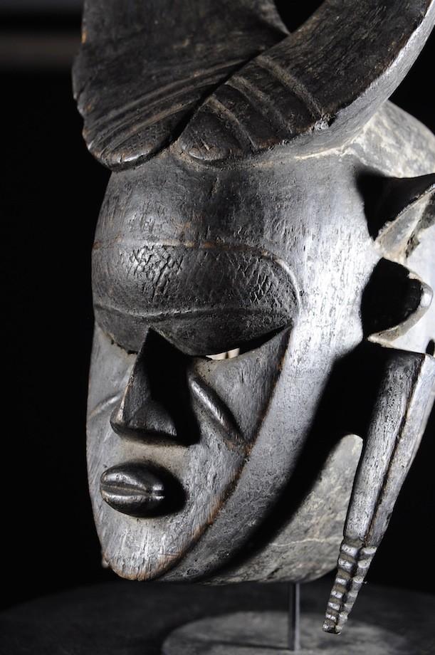 Masque zoomorphe - Ligbi - Côte d'Ivoire / Ghana