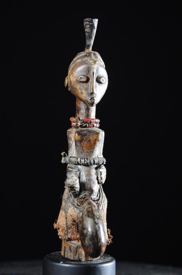 Amulette nkishi de feticheur - Songye - RDC Zaire