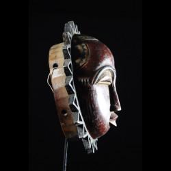 Masque Lune - Baoule - Côte d'Ivoire