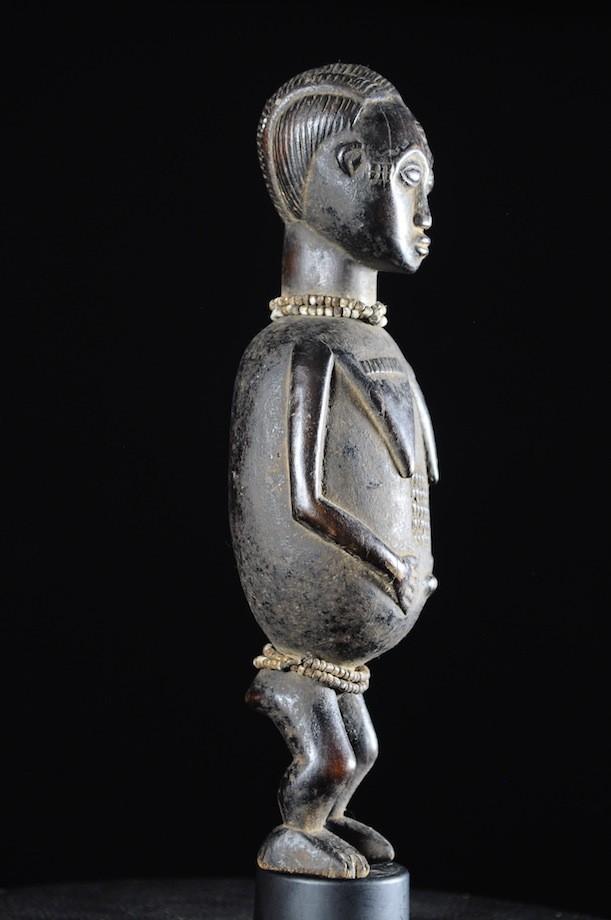 Statue féminine épouse mystique blolo bian - Baoule - Cote D'Ivoire