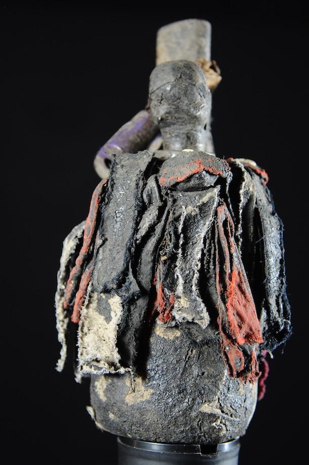 Fetiche Gourde et bec oiseau Vaudou - Ada / Adja  - Benin