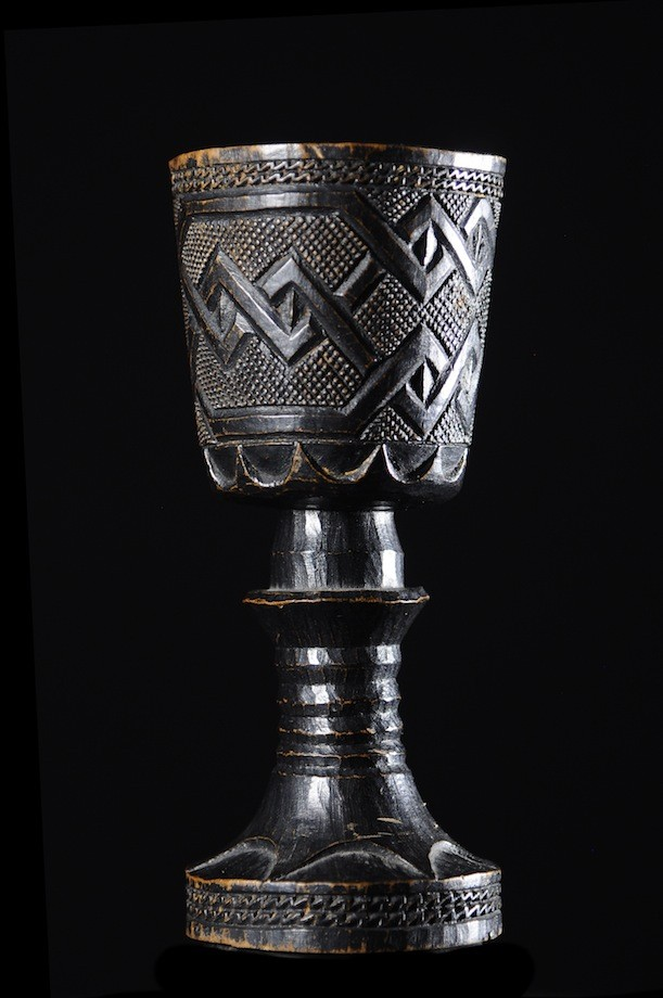 Coupe a vin de palme simple - Kuba Shoowa - RDC Zaire