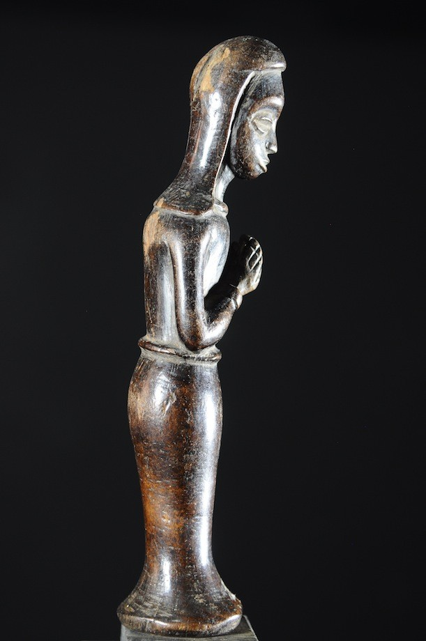 Statuette de Vierge Chretienne - Mossi - Burkina Faso