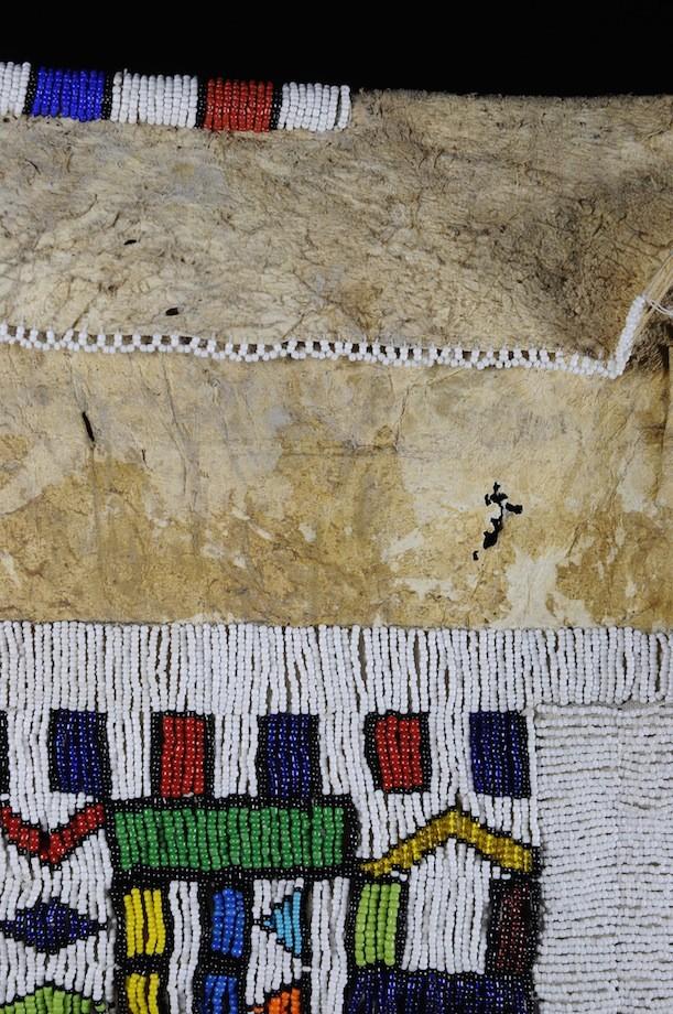 Tablier de mariee Ijocolo - Ethnie Ndebele - Afrique du sud