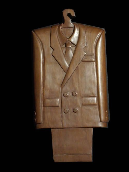 Art contemporain - Gentlemans Suit - Koffi Kouakou - 1990
