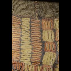 Foulard ou pagne en écorce battue - Dida - Côte Ivoire