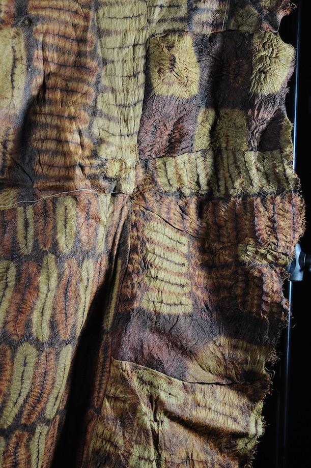 Grand pagne en écorce battue - Dida - Côte Ivoire