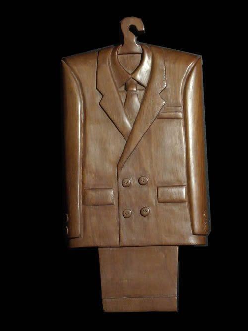 Art contemporain - Gentlemans Suit - Koffi Kouakou - 1990