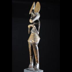 Statue cultuelle feminine - Chokwe - Angola